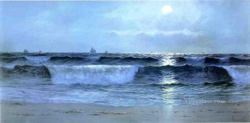 Seascape Painting - Alfred Thompson Bricher Seascape beachside