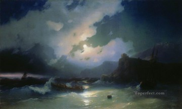 Ivan Aivazovsky island of patmos Seascape Oil Paintings