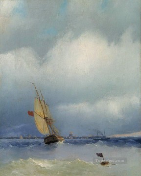 Ivan Aivazovsky neva Seascape Oil Paintings