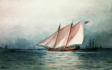 Seascape Painting - Ivan Aivazovsky sailing ship Seascape