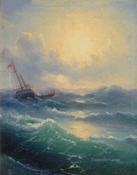 Ivan Aivazovsky sea 1898 Seascape Oil Paintings
