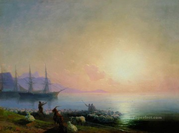 Seascape Painting - Ivan Aivazovsky sheepdip Seascape