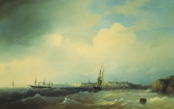 Ivan Aivazovsky sveaborg Seascape Oil Paintings
