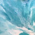 turquoise revenge turquoise white abstract seascape