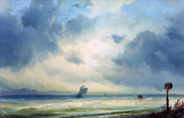 Lido Venice Alexey Bogolyubov seascape Oil Paintings