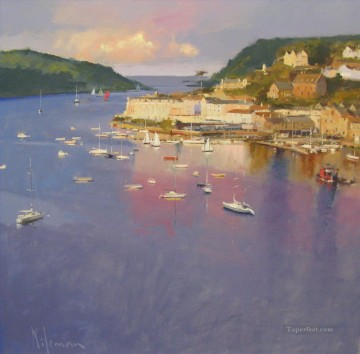 The Estuary Salcombe abstract seascape Oil Paintings