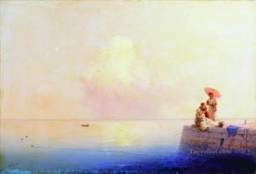 Seascape Painting - Ivan Aivazovsky calm sea Seascape