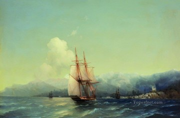 Seascape Painting - Ivan Aivazovsky crimea Seascape