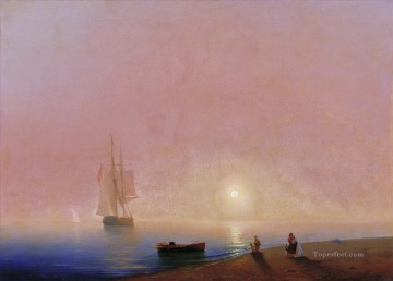 Ivan Aivazovsky farewell Seascape Oil Paintings