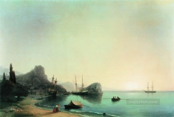 Ivan Aivazovsky italian landscape Seascape Oil Paintings