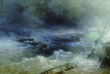 Seascape Painting - Ivan Aivazovsky ocean Ocean Waves