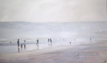 Seascape Painting - cocking Mist abstract seascape