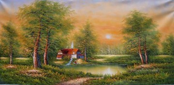 Freehand 22 Bob Ross Landscape Oil Paintings