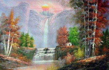 Vivid Freehand 20 Bob Ross Landscape Oil Paintings