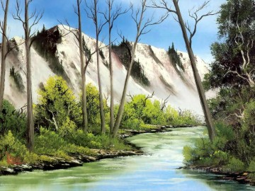 freehand Canvas - arizona splendor Bob Ross freehand landscapes