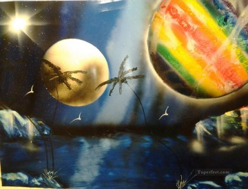 Spray paint art Painting - spray art 01