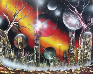 Spray paint art Painting - spray art 13