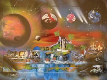 Spray paint art Painting - spray art 19