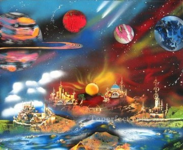 Spray paint art Painting - spray art 28