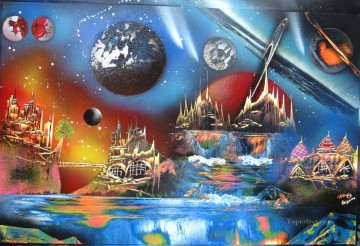 Spray paint art Painting - spray art 26