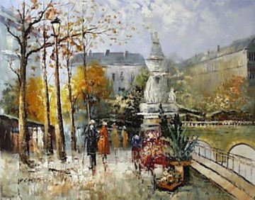 sy041hc street scenes cheap Oil Paintings