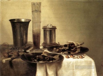 Still life Painting - Breakfast Still Life Willem Claeszoon Heda