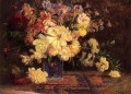 Still Life with Peonies Impressionist flower Theodore Clement Steele