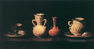 Still life Francisco Zurbaron Oil Paintings
