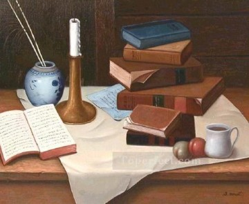 Still life Painting - jw049aE classical still life