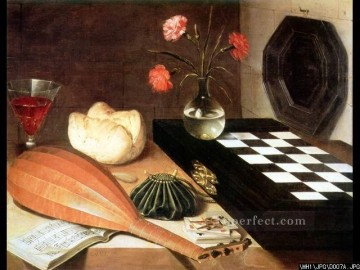 Still life Painting - jw082aE classical still life