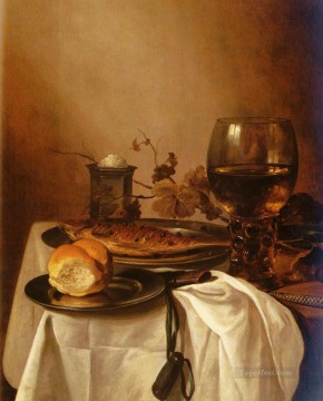 Still life Painting - to 1660 A Still Life Of A Roamer Pieter Claesz