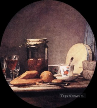 Still life Painting - April Jean Baptiste Simeon Chardin still life