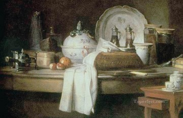 Butl Jean Baptiste Simeon Chardin still life Oil Paintings