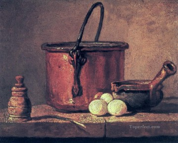 Eggs Jean Baptiste Simeon Chardin still life Oil Paintings