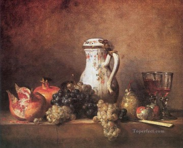 GrPo Jean Baptiste Simeon Chardin still life Oil Paintings
