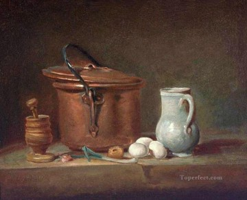 Pestle Jean Baptiste Simeon Chardin still life Oil Paintings