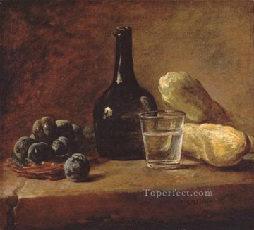 Plum Jean Baptiste Simeon Chardin still life Oil Paintings