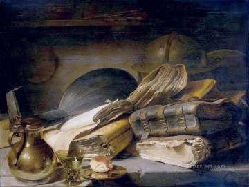 Still life Painting - svanit Jan Lievens still life
