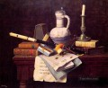 Emblems of Peace William Harnett still life