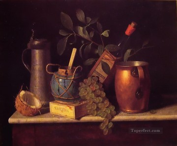 Still life Painting - Just Dessert William Harnett still life