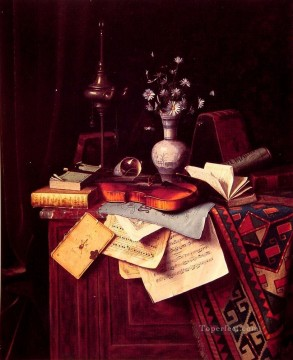 Classic Still Life Painting - Music William Harnett still life