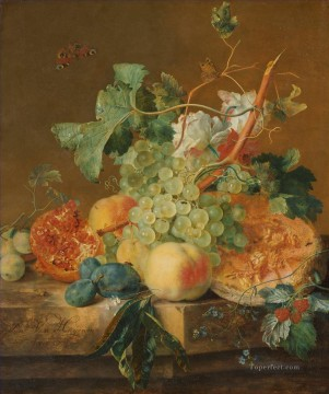Still life Painting - Still Life with Fruit Jan van Huysum