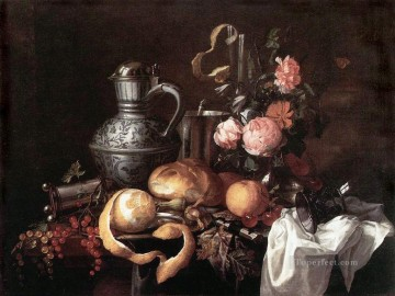 Still life Jan Davidsz de Heem Oil Paintings
