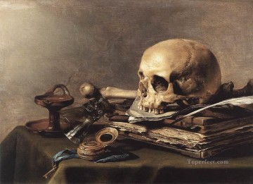 Vanitas Still Life Pieter Claesz Oil Paintings