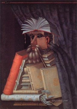 the librarian Giuseppe Arcimboldo Classic still life Oil Paintings