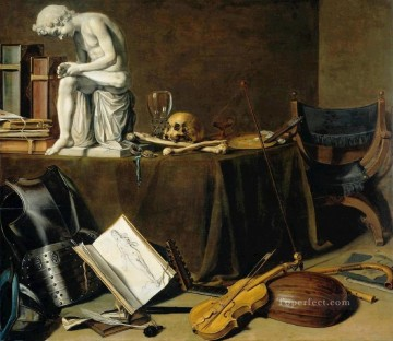 Spinario still life Pieter Claesz Oil Paintings