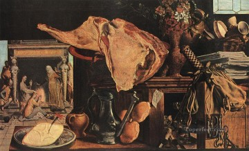Still life Painting - Still Life Dutch historical painter Pieter Aertsen