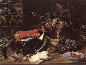 Still life Painting - Still life With Crab And Fruit Frans Snyders