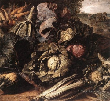 Classic Still Life Painting - Vegetable Still Life Frans Snyders