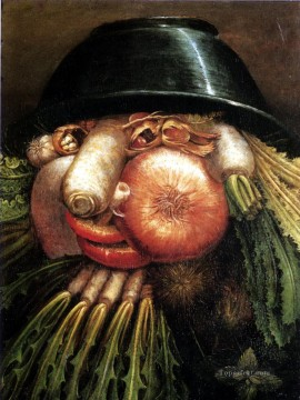 Vegetables Giuseppe Arcimboldo Classic still life Oil Paintings